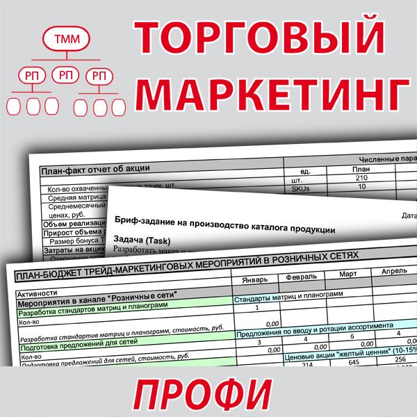 <h1>Пакет инструментов для бизнеса Торговый маркетинг Профи</h1>