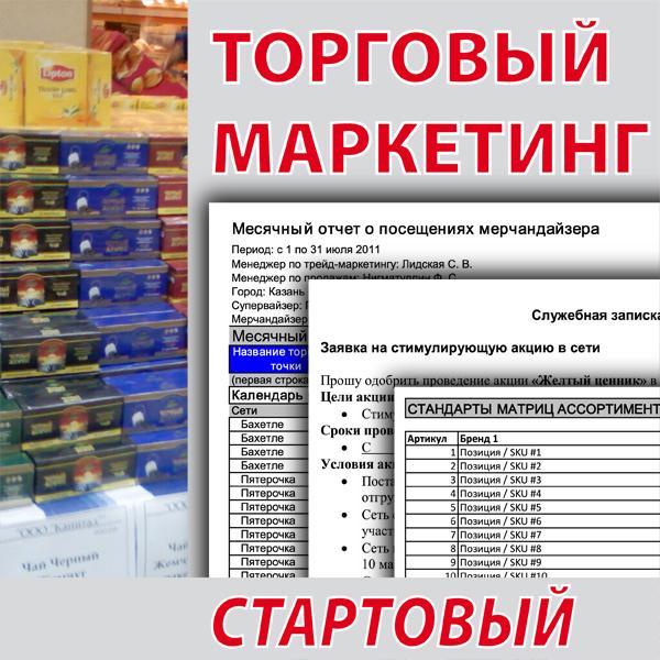 Пакет инструментов для бизнеса Торговый маркетинг Стартовый